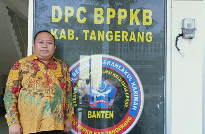 PLT DPC BPPKB Kabupaten Tngerang, H .Hamdan SH