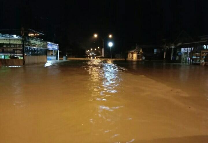 Banjir rendam Desa Bente Kecamatan Bungku