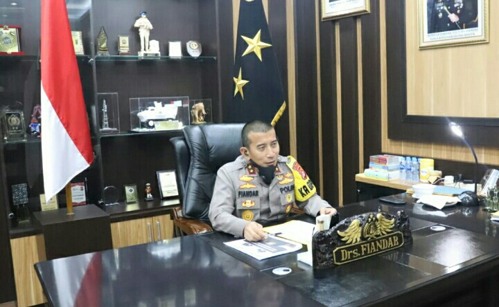 Kapolda Banten Irjen Pol Drs. Fiandar