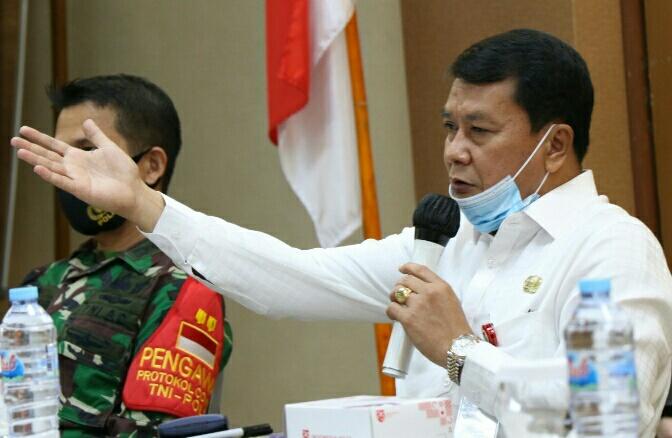 Sekda Kabuoaten Tangerang Moch Maesyal Rasyid