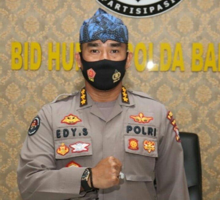 Kabid humas Polda Banten Kombes Pol Edy Sumardi SIK