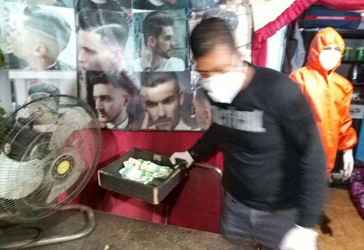 Kapolsek Bahodopi pimpin olah TKP di Salon Marwah desa Fatufia