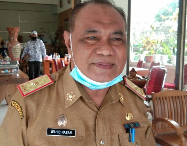 Wahid Hasan ( ketua Timpora ) Kabupaten Morowali.